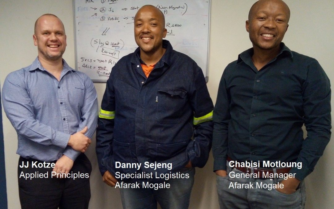 Afarak Group Introduce Paperless Process Management at Their Mogale Alloys Processing Plant